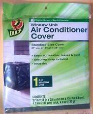 "Duck Window Air Conditioner Cover 27""w X 18""h X 25"" d - NEW- Reusable -FAST SHIP"