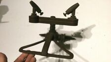 Rare Vintage Brass Iron Hercules Lawn Sprinkler Double Jet Orifice Adjustible