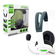 Komodo Xbox 360 White On The Ear Headsets