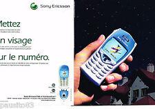 PUBLICITE ADVERTISING 075  2002  SONY ERICSSON  mobile T68i & communicam (2p)