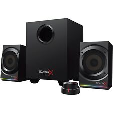 Creative Labs 193842 Speakers 51mf0470aa001 Mf0470 Sound Blasterx Kratos S5 2.1