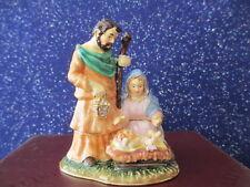 Nativity ~ Bejeweled Enamel Trinket Box #3209