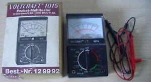 altes Voltcraft Multimeter Multitester HC 1015 analog