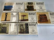 The House Of Miniatures Lot Of 7 Living Room  Dollhouse Furniture - Sealed