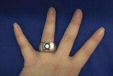 Green Lantern Signet Emblem Steel Ring Size 9 New B