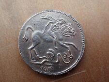 1908 Ecuador Silver Coin