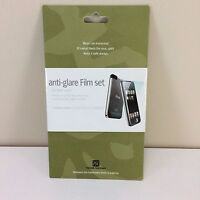 Anti-Glare Film Set for 1st Generation iPod Touch Power Support New Sealed NIP