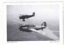 "*Postcard-""Air National Guard Aircraft"" /Mississippi/ -St. Louis Aviation (#61)"