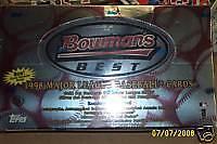 1998 Bowman's Best Baseball Box Glaus Lowell Ordonez