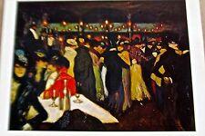 Pablo Picasso Le Moulin de La Galette Poster Offset Lithograph Unsigned 16x11