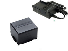 Battery + Charger For DZ-BP14S HITACHI DZ-MV730A DZ-MV550A DVD Rechargeable new