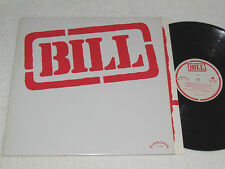 BILL Self-Titled LP 1981 Celebration Records Canada Quebec Rock French CEL-2096