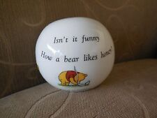 Disney Winnie the Pooh Royal Doulton Bone China Money Bank
