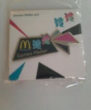 McDonalds Button Badge London 2012 Games Maker Olympics Large New 2018 trader