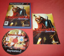 Playstation PS2 Devil May Cry 3 Special Edition [PAL (Fr)] PS Two Fat Slim *JRF
