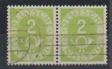 V395 BRD MiNr 123/123 o waagrechtes COPPIA