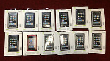 Lot mixte de 6x Jivo Ji1118 Gris & 5x Jivo Ji1119 bleu iPhone 3G/3GS Case & 1x Rouge