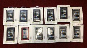 Mixed Lot of 6x Jivo Ji1118 Grey & 5x Jivo Ji1119 Blue Iphone 3G/3GS Case&1x Red