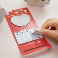 150 Pages Red Hello Kitty Self-adhesive Memo Pad Sticky Note Stationery Sticker