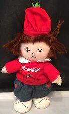 "Campbell's Soup 9.5"" Tall Kids Rag Doll Plush"
