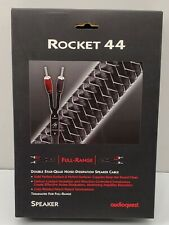 AudioQuest Rocket 44 Full-Range Speaker Cable w/ 500 Series Banana Plugs