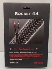 AudioQuest Rocket 44 Full-Range Speaker Cable w/ 500 Series Banana Plugs - Pair