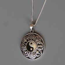 Lepos, Sterling Yin Yang Pendant Necklace