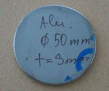 Ronde aus Aluminium AlMg3 Blech, 50 x 3 mm einseitig foliert