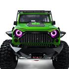 Bright 17mm Angel & Demon Eyes LED Headlight Taillight for 1/10 RC Model Car