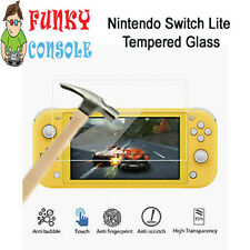 Nintendo Switch Lite Console Protective Tempered Glass Screen Protector for
