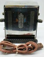 Vintage Westinghouse TT-72 Flip Toaster Non-Working but Complete