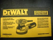 "DEWALT DWE6420 3 Amp 5"" Single Speed Random Orbital Sander w/ PSA Pad New"