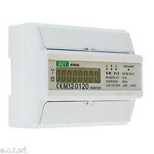 33103345 DZT-6006 CONTATORE DIGITALE DI kW TRIFASE A 4 FILI 100A