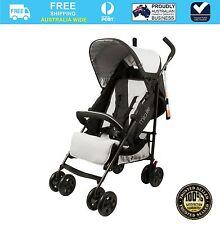 Bebecare Baby Stroller Pram Mira Lite Black Silver #`011230-002