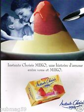 Publicité advertising 1996 Les Glaces Miko