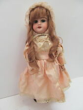 Mes-49678 VECCHIO ORIGINALE PORCELLANA testa bambola h:ca.34cm con carenze, eh: DEP 4,