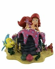 NIB Disney Parks Ariel and Friends Flounder Sebastian Figurine Statue 2018