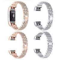 2 BUY 2 get 1 FREE \u201cSunKiss Diamonds Bling  Charm Jewelry Bracelet  Cover Activity Tracker Fitbit Flex-2  Alta  Charge HR