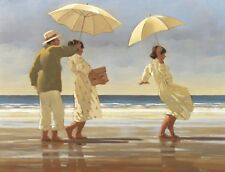 Jack Vettriano - Das Picknick Party - Kunstdruck - 80x60cm