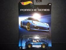 Hot Wheels Porsche Boxster Spyder Blue Walmart Exclusive 1/64