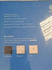 Hive UK7004202 13A Active Heating and Hot Water Thermostat Kit