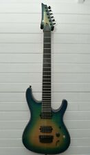 Ibanez SIX6FDFM six string electric guitar Iron Label S series blue space burst