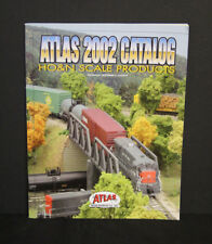 Atlas Trains 2002 Catalog (new) HO & N Scale - 54 color page
