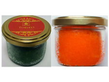 80 gr Orange & Green Tobiko duo (160gr) roe/caviar.Great for sushi.FREE delivery