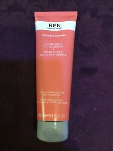 Ren Perfect Canvas Clean Jelly Oil Cleanser 100ml. Brand New .
