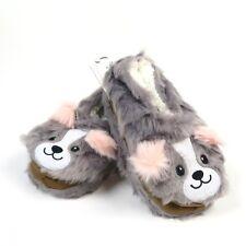 Jane & Bleecker Ballerina Dog Slippers Size M / L 8 - 9 Plushfill Lined Soft