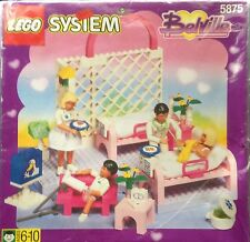LEGO Belville Hospital Ward (#5875) 4 Belville Figures + Doctor Accessories
