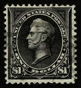 Scott#276A $1 Oliver Hazard Perry Type II 1895 Used Well Centered