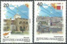 MACEDONIA 2012 Macedonia in EU - Nicosia - Copenhagen - MNH ERROR