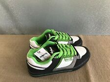 BNWT Mens Teenage Size 8 Rivers Doghouse Cool Green/White Lace Up Jogger Shoes